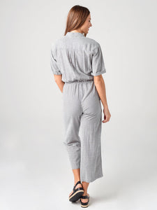 LEANN Cotton Blend Jumpsuit