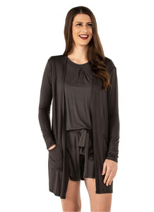 Sabine Short Cardigan Black