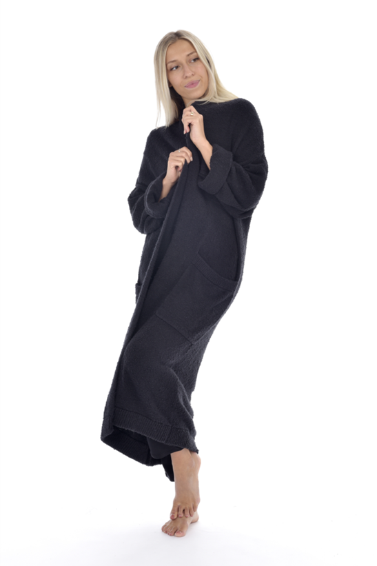 Luna Duster Black