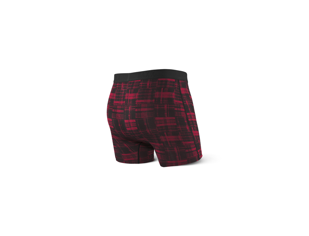 VIBE Red Patched Plaid