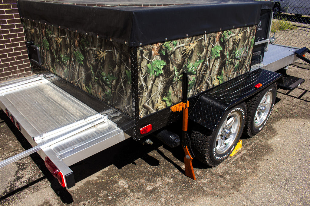 Sport Bumper Bracket (on hunting trailer with gun)
