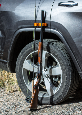 Sportsman Bumper: Fishing Rod and Gun Holder