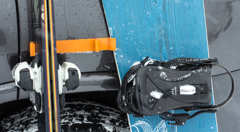 NEW Ski Bumper: Magnetic Ski and Snowboard Guard