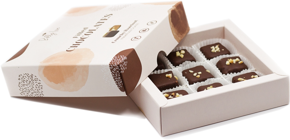 Haselnuss Crunch Pralinen