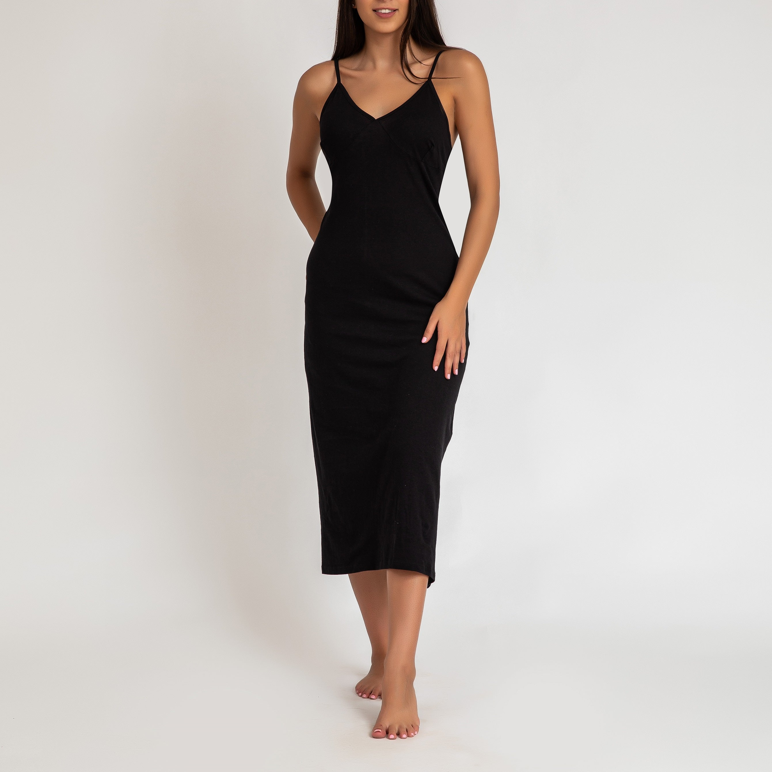 Womens' Long Cami Dress