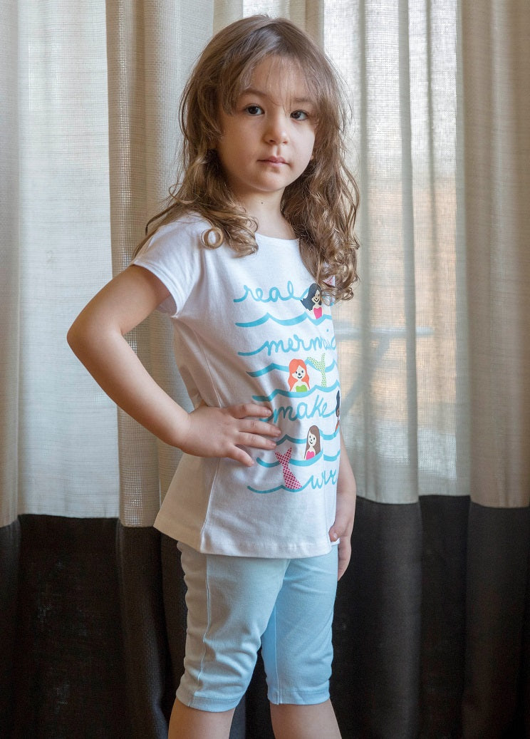 Girls' Mermaid PJ