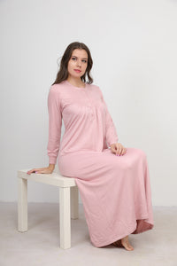 Classic Charmaine Nightgown with detailing on front
