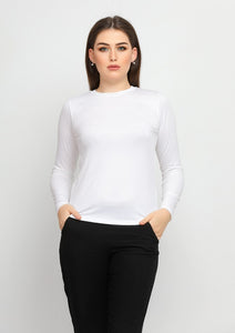 Womens' LongSleeve Viscose top