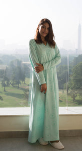 Classic Charmaine Nightgown with simple floral print