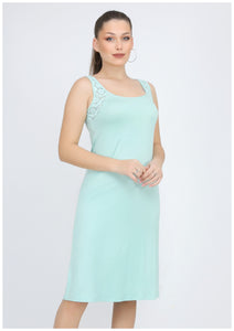 Cut Sleeve Plain Nightie