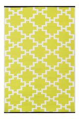 Green Decore Kitchen Rug