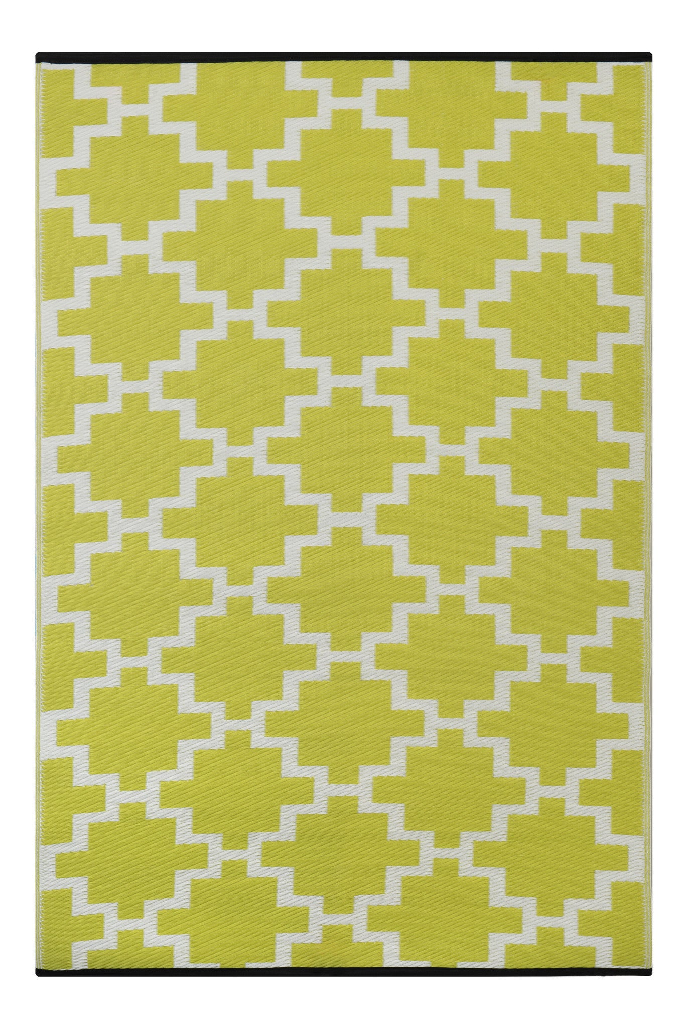 Bright outdoor green rug UK Green Decore