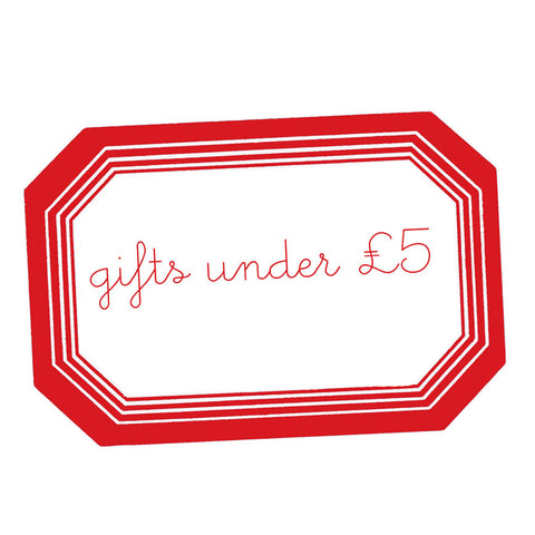 gifts under £5