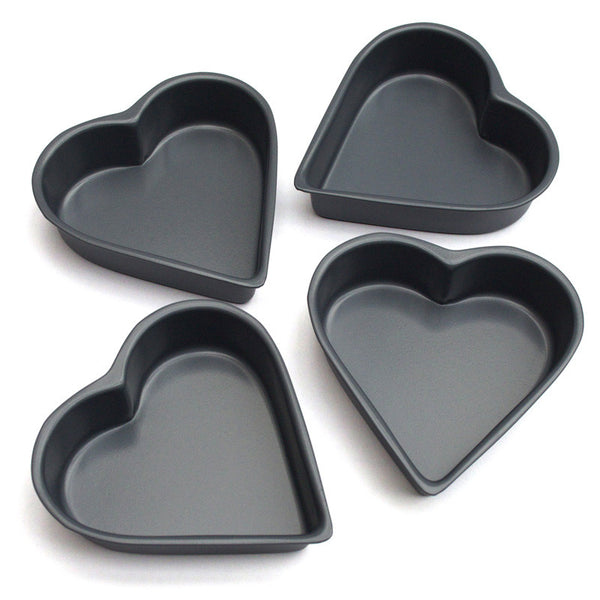 Heart Shaped Cake Tins : mini heart shape cake tins hedgehogshop