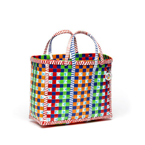 asian woven basket - small