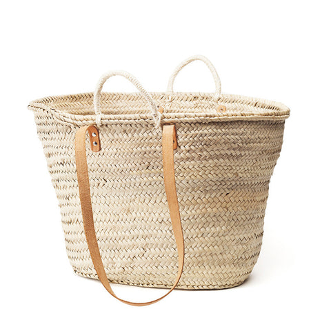 woven shoulder basket  - large