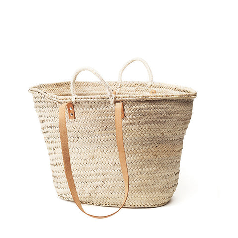 woven shoulder basket  - medium