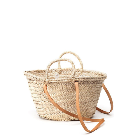 woven shoulder basket  - small
