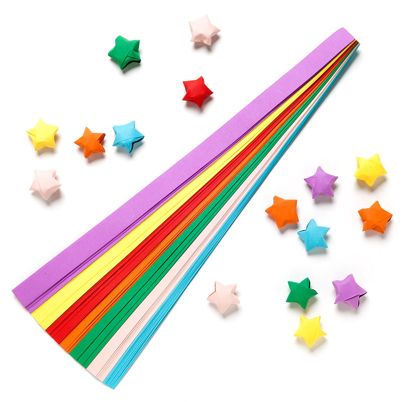 How to Make Origami Lucky Stars | 800x800
