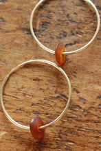 Load image into Gallery viewer, The Lucy Gold Hoops