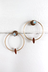 The Lucy Gold Hoops