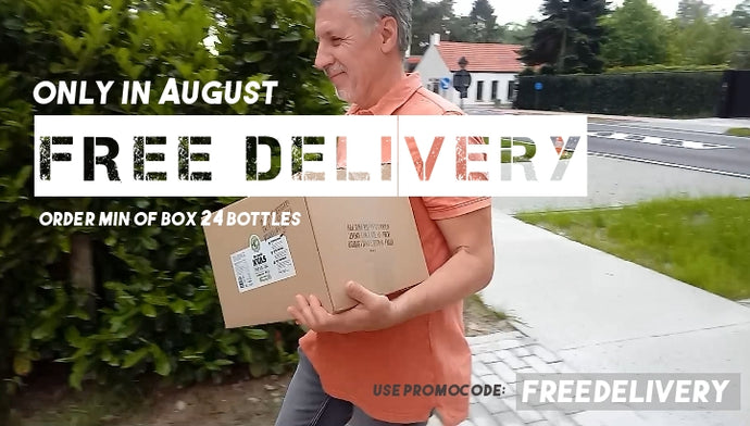 Summer action! Free delivery in August!