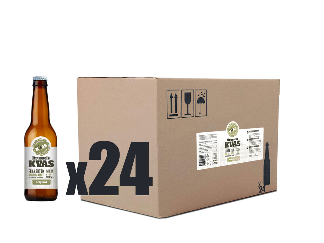 Brussels Kvas Carton Box 24 Bottles