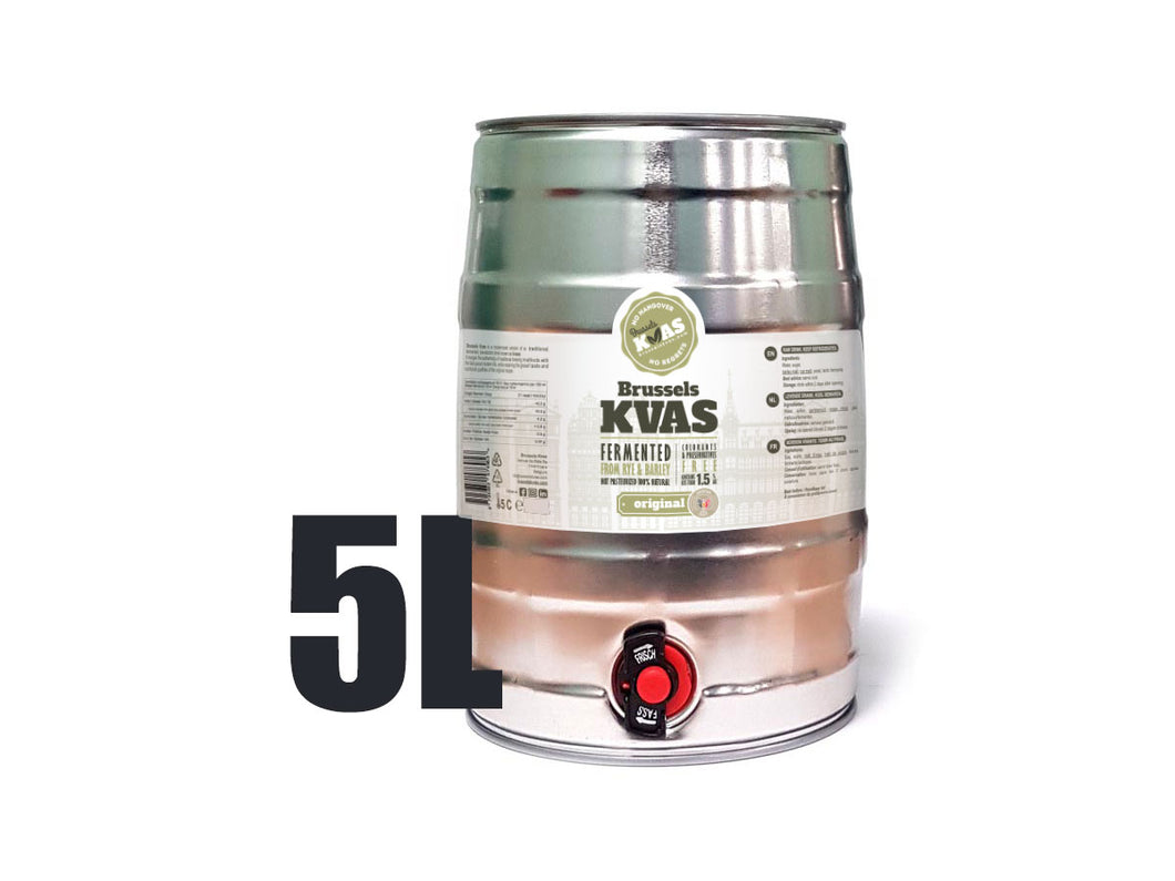 Brussels Kvas Mini Keg 5 L