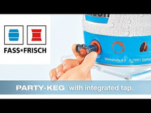 Load and play video in Gallery viewer, Brussels Kvas keg 5L + reinforced packaging