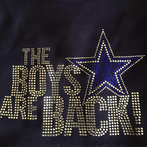 The Boyz Are Back Cowboy Design
