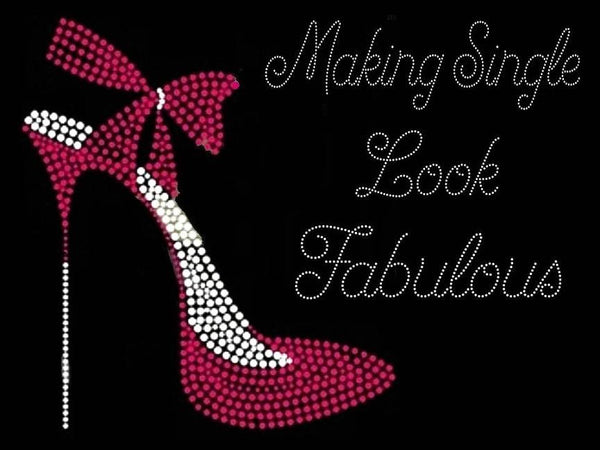 Making Single Look Fabulous Rhinestone T-shirt