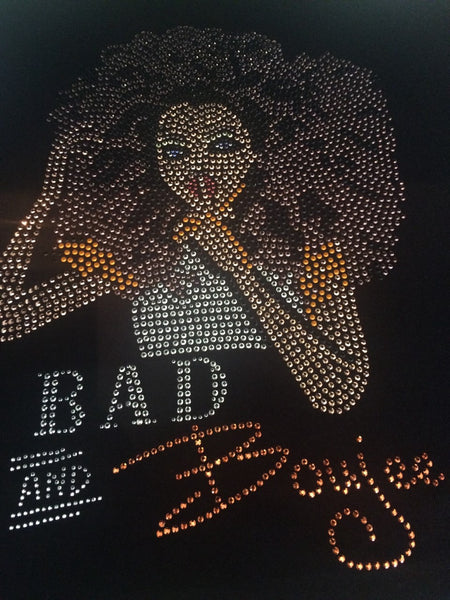 Bad & Boujee Rhinestone T-Shirt