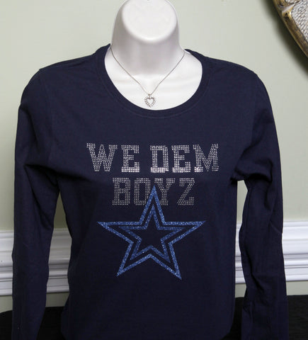 We Dem Boyz Rhinestone T-shirt