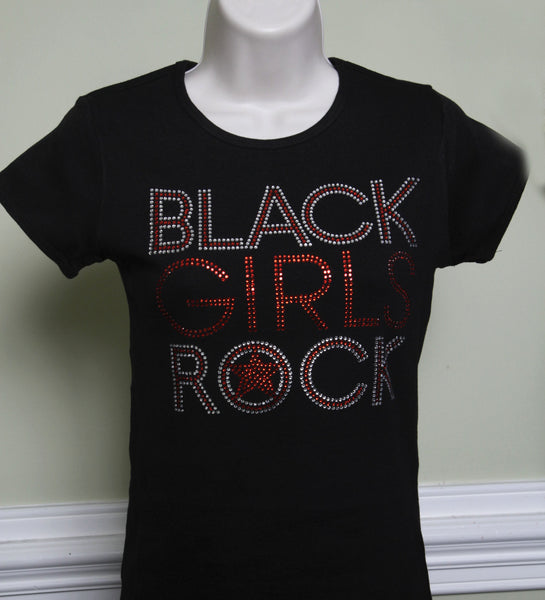 Black Girls Rock Rhinestone T-Shirt