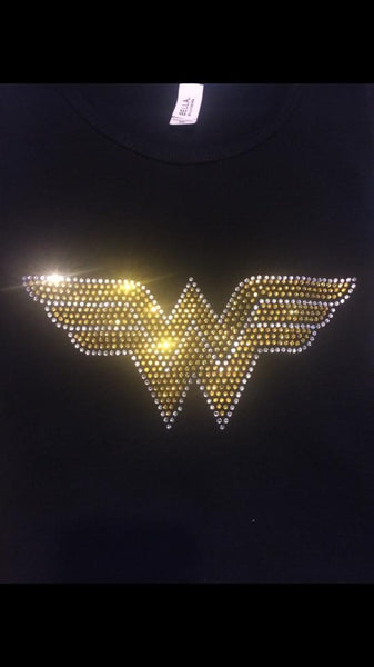 Wonder Woman Rhinestone Tshirt