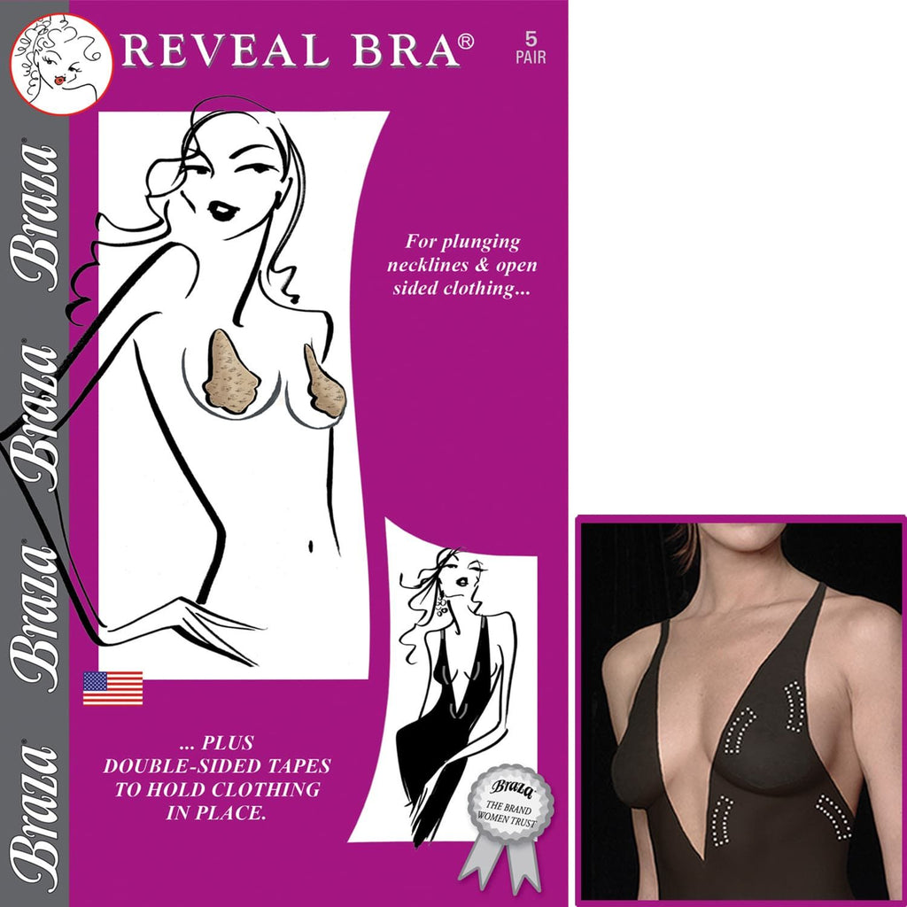 BRAZA REVEAL BRA 5-PACK