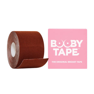 Booby Tape is the original breast tape designed to lift the breasts in a desirable position underneath clothing and enhance cleavage.