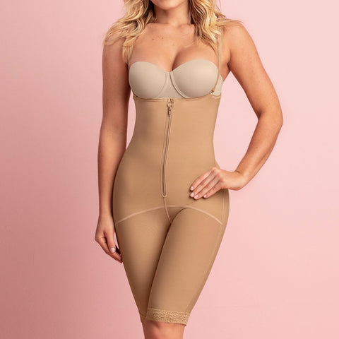 BT KNEE LENGTH BODY SHAPER WITH FIRM COMPRESSION 40048