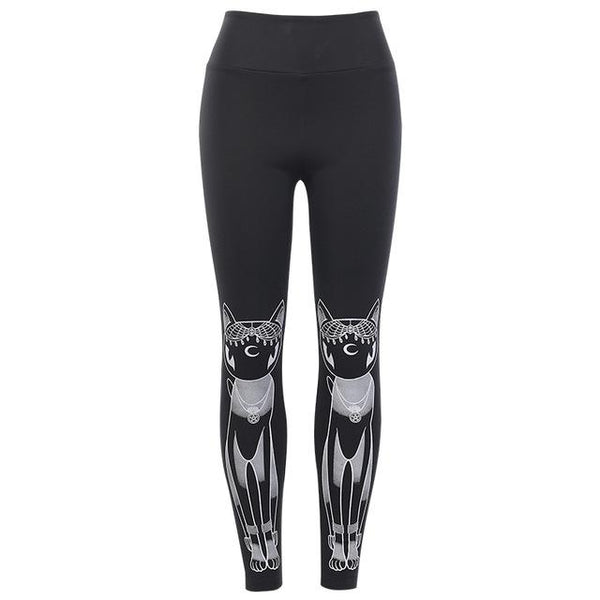 Cat & Skull Witch Pants - My Goth Closet