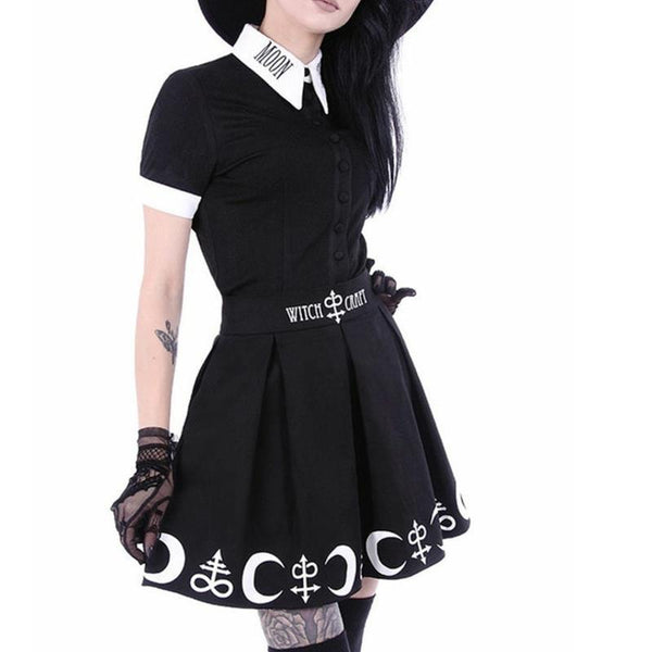 Witchcraft Skirt Set - My Goth Closet