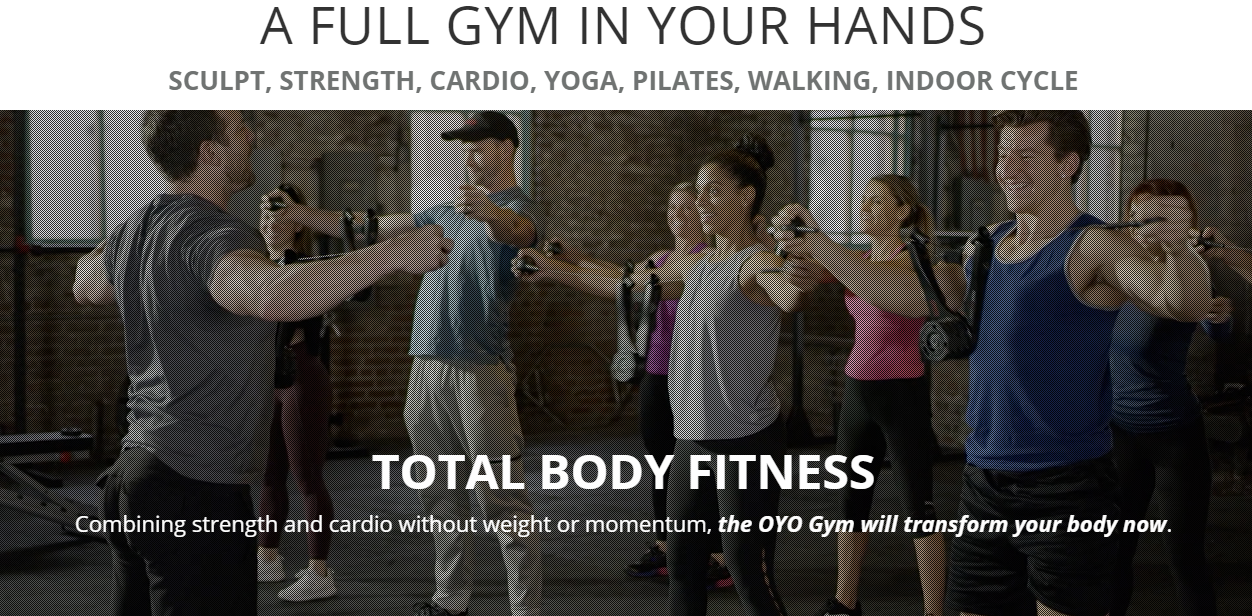 A  Full Gym in your Hands