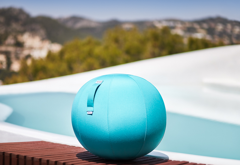VLUV AQVA Outdoor Seating Ball - Aruba Blue
