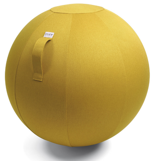 VLUV LEIV Fabric Seating Ball - Mustard Yellow