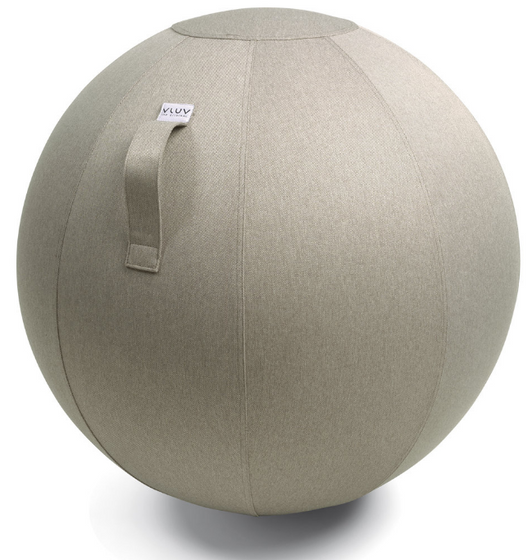 VLUV LEIV Fabric Seating Ball - Stone Beige - Ø 70-75cm