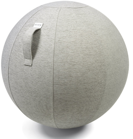 VLUV STOV Fabric Seating Ball - Concrete
