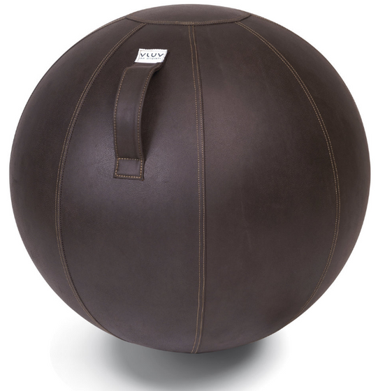 VLUV VEEL Leatherette Seating Ball - Mokka