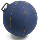 VLUV VELT Felt Seating Ball  - Jeans-Flecked / Gold