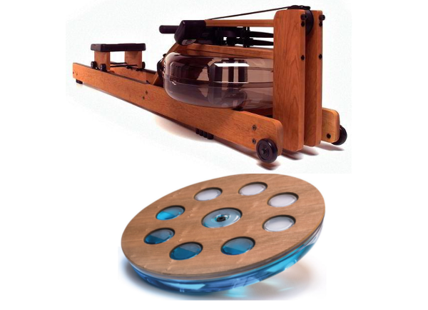 Bundle Offer - Waterrower Oxbridge + NOHRD Eau-Me Board Cherry