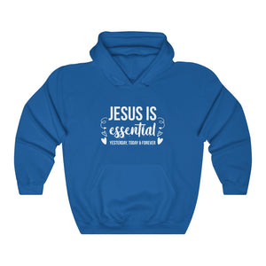 Jesus Is Essential Hoodie - Adventist Apparel