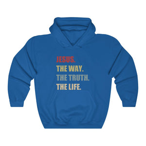 The Way The Truth The Life Hoodie - Adventist Apparel